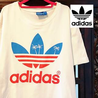 adidas - アディダス オリジナルス ヤシの木 ビッグロゴ 南国 タンクトップ Tシャツ