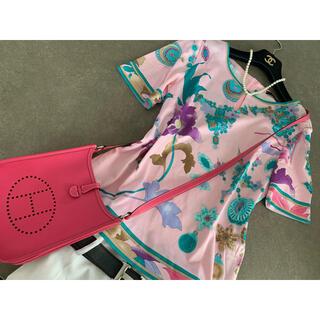 LEONARD - ☆ 彡レオナール⭐︎お上品な大人ピンク!半袖プルオーバー