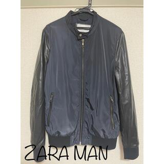 ザラ(ZARA)の【ZARA MAN】ライトジャケット マウンテンパーカー Lサイズ(マウンテンパーカー)