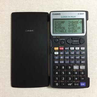 CASIO - 【CASIO】fx-5800P プログラム関数電卓✨本日発送可