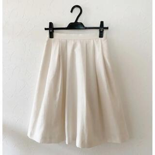 テチチ(Techichi)の★Te chichiテチチ♡オフホワイトフレアスカート★(ひざ丈スカート)