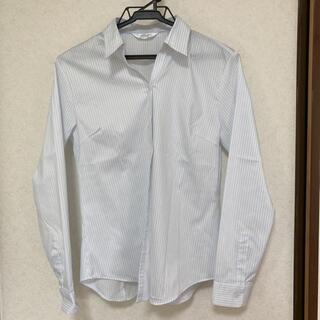 アオヤマ(青山)の14 長袖シャツ ストライプシャツ ブラウス オフィスカジュアル スーツ(シャツ/ブラウス(長袖/七分))