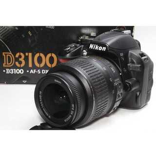 Nikon - ❤️高画質ムービー一眼レフ❤️Nikon D3100 レンズキット