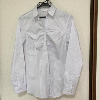 アオヤマ(青山)の15 ストライプシャツ 長袖シャツ ブラウス オフィスカジュアル スーツ(シャツ/ブラウス(長袖/七分))