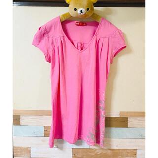 プーマ(PUMA)のプーマ Tシャツ レディース Mサイズ トレーニングウェア ピンク(トレーニング用品)