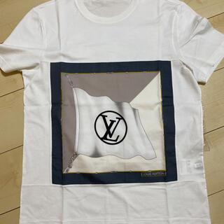 ルイヴィトン(LOUIS VUITTON)の美品‼︎LOUIS VUITTON ルイヴィトン LV Tシャツ(Tシャツ/カットソー(半袖/袖なし))