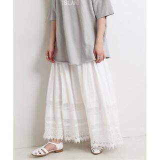 IENA SLOBE - 2021SS新作★新品 SLOBE IENA 刺繍レーススカート スローブイエナ