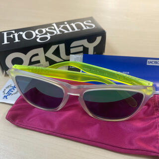 Oakley - 新品 オークリー フロッグスキン サングラス Oakley