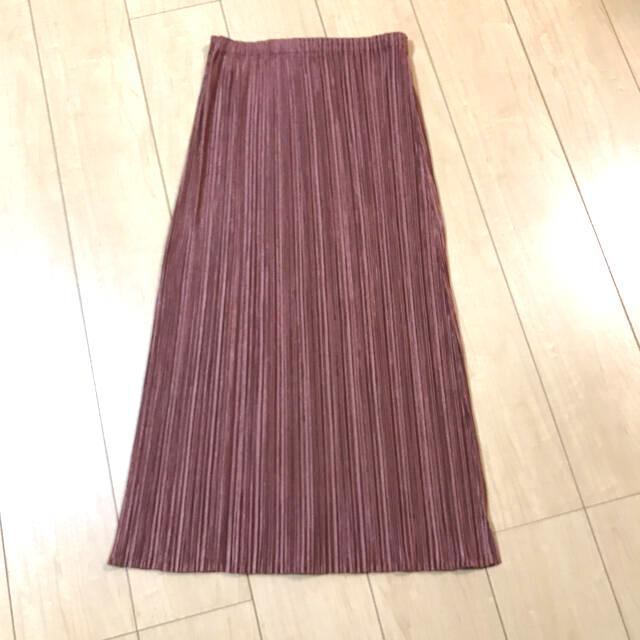 PLEATS PLEASE ISSEY MIYAKE(プリーツプリーズイッセイミヤケ)のプリーツプリーズ ロングスカート レディースのスカート(ロングスカート)の商品写真