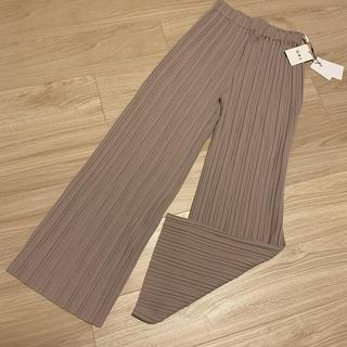GRL - 新品☆GRL グレイル プリーツ パンツ ズボン (難あり)