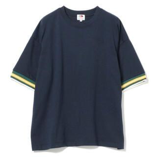 ビームスボーイ(BEAMS BOY)のFRUIT OF THE ROOM × BEAMS BOY リブラインTシャツ(Tシャツ(半袖/袖なし))