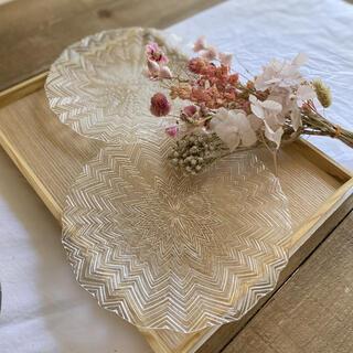 取り皿 切子皿[2皿セット] 切子ガラス