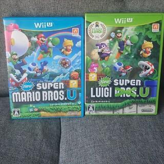 ウィーユー(Wii U)のニュースーパーマリオブラザーズU&ルイージUセット(家庭用ゲームソフト)