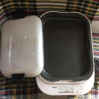 ゾウジルシ(象印)の象印 まる洗いプレート式 ホットプレート EHA-E12(調理機器)
