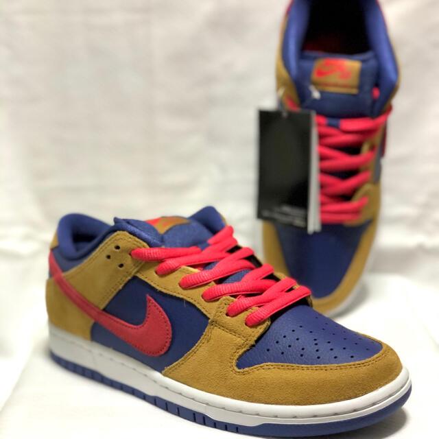 NIKE(ナイキ)の【26.0cm】DUNK LOW WHEAT and PURPLE SB メンズの靴/シューズ(スニーカー)の商品写真