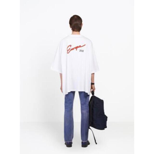Balenciaga(バレンシアガ)のBALENCIAGA Europe 2018 バレンシアガ ヨーロッパ Tシャツ メンズのトップス(Tシャツ/カットソー(半袖/袖なし))の商品写真