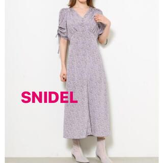 snidel - LAV1 正規品 SNIDEL プリントワンピース