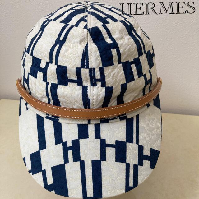 Hermes(エルメス)のエルメスキャップ  エルメス帽子  HERMES レディースの帽子(ハット)の商品写真