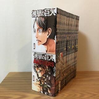 本日限定 進撃の巨人 全巻+関連本5巻セット 全38巻