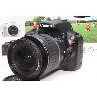 キヤノン(Canon)の❤️超軽量コンパクト一眼レフ❤️Canon EOS Kiss X7 レンズセット(デジタル一眼)