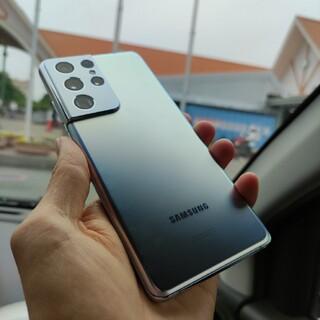 SAMSUNG - Galaxy S21 Ultra snapdragon888 SIMフリー