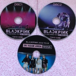 エイチティーシーブラック(HTC BLACK)のBLACK PINKinyourarea3枚組(アイドル)
