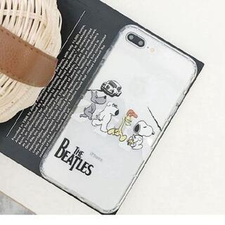 SNOOPY - Snoopy スヌーピー Beatles iphoneケース 各種サイズ
