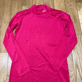 PUMA - PUMA サッカーアンダーシャツ(ラズベリーMサイズ)★ほぼ未使用★