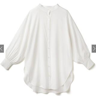 GRL - バンドカラーオーバーサイズシャツ GRL