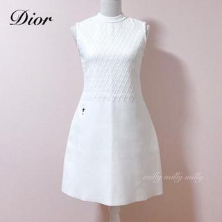 Christian Dior - 【Christian Dior】BEE刺繍ワンピース