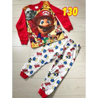 マリオ パジャマ 130 長袖