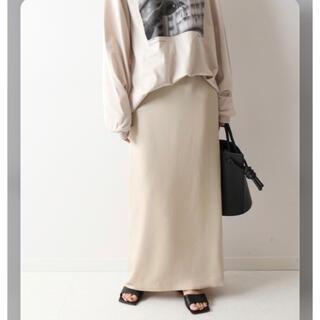 FRAMeWORK - 新品⭐️定価16500円/FRAMeWORK ヘビーサテン マキシタイトスカート