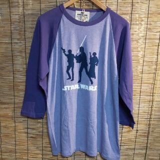 エドウィン(EDWIN)のEDWIN エドウイン STAR WARS スターウォーズ ラグラン7分袖 XL(Tシャツ/カットソー(七分/長袖))