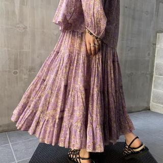 Isabel Marant -   ISABEL MARANT  ETOILE フラワーギャザースカート