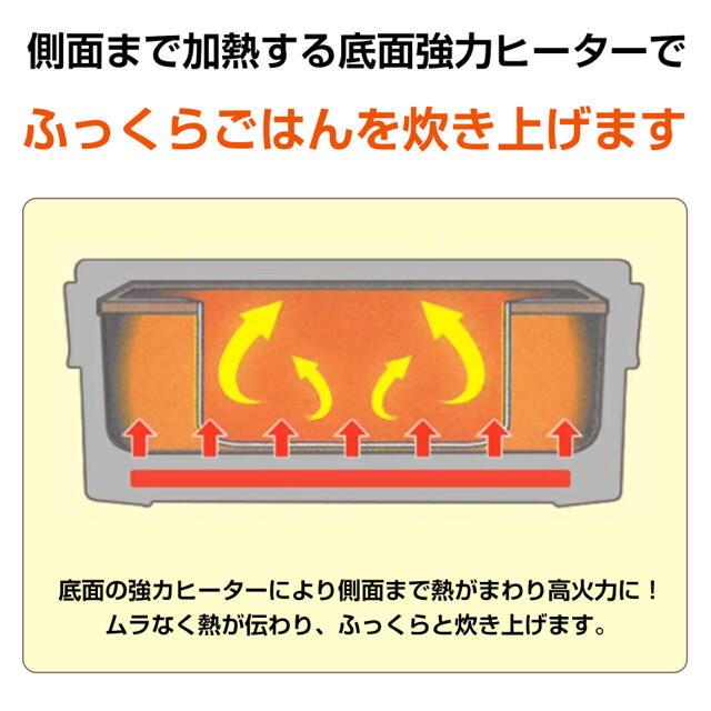 炊飯器 おひとりさま用 超高速弁当箱炊飯器 一合 小型炊飯器 コンパクト炊飯機 スマホ/家電/カメラの調理家電(炊飯器)の商品写真