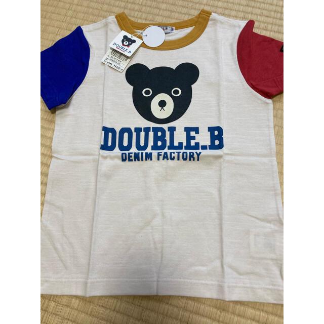DOUBLE.B(ダブルビー)のビーくんマルチT120 キッズ/ベビー/マタニティのキッズ服男の子用(90cm~)(Tシャツ/カットソー)の商品写真