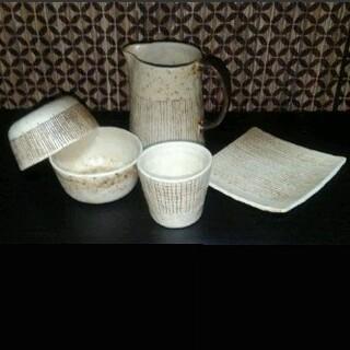 金成潤子さん ピッチャーとカップ、お皿各種 セット