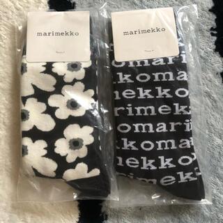 マリメッコ(marimekko)の新品 ソック靴下 マリメッコ(ソックス)
