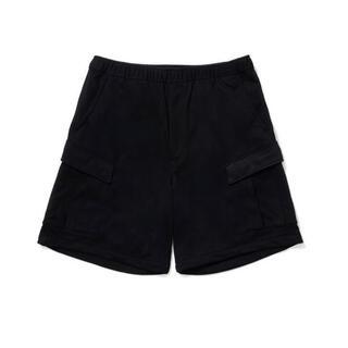 ワンエルディーケーセレクト(1LDK SELECT)のL 黒 DAIWA PIER39 1LDK Sweat Cargo Shorts(ショートパンツ)
