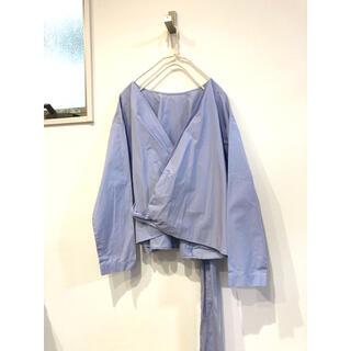 【新品】ユニクロ ブラウス 羽織り オーバーサイズ