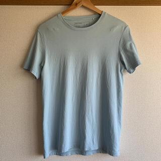 ジーユー(GU)のGU パステルブルー 半袖Tシャツ(Tシャツ/カットソー(半袖/袖なし))