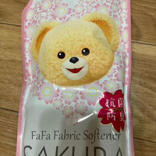 ファーファー(fur fur)のファーファ柔軟剤SAKURAとファーファトリップ(洗剤/柔軟剤)