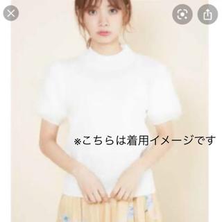 GRL - Khalita★袖部分ファーニットトップス