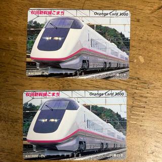 ジェイアール(JR)のオレンジカード 3000円×2枚(その他)
