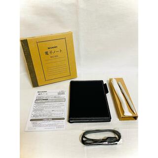シャープ(SHARP)の【美品】シャープ 電子ノート WG-S50(電子ブックリーダー)