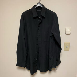 UNIQLO - Uniqlo +J スーピマコットン オーバーサイズシャツ 黒
