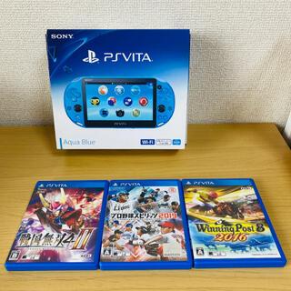 プレイステーションヴィータ(PlayStation Vita)のPlayStation®Vita(PCH-2000シリーズ) Wi-Fiモデル…(携帯用ゲーム機本体)