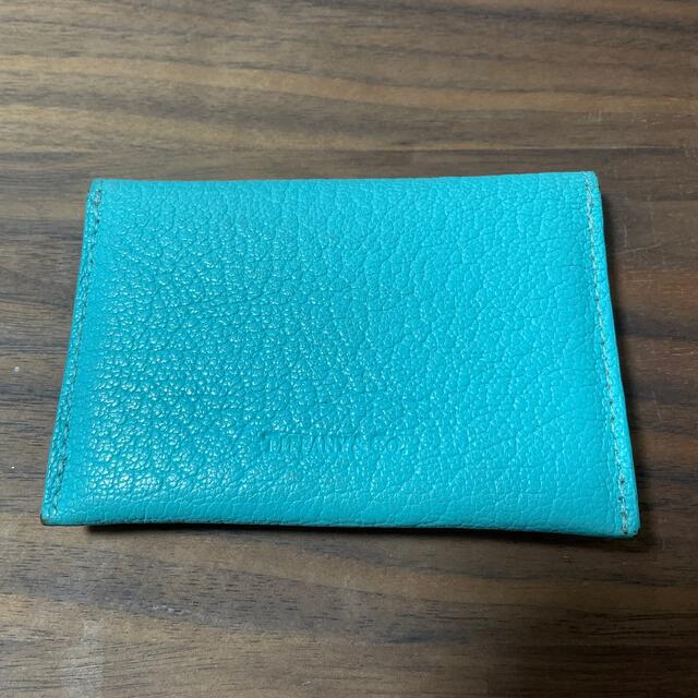 【美品】ティファニー 名刺入れ カードケース レディースのファッション小物(名刺入れ/定期入れ)の商品写真