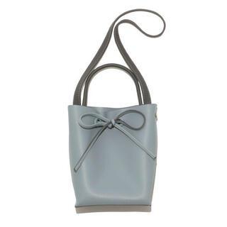 FRAY I.D - 【新品】メタルハンドルバッグ ブルー
