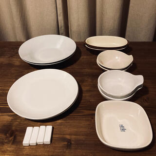 MUJI (無印良品) - 陶器 食器 お皿 大皿 深皿 受け皿 器 コップ